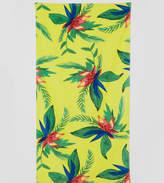 Monki Tropical Floral Beach Towel