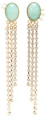 Magda Butrym Kiwi crystal-embellished earrings