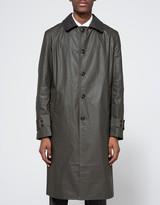 Junya Watanabe Cotton Tussar Urethane Treated Coat
