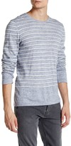 Vince Sporty Striped Crew Neck