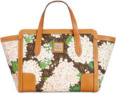 Dooney & Bourke Signature Small Hydrangea Satchel