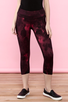 Lucy Red Capri Legging