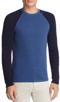Theory Savaro Cotton Color Block Sweater - 100% Bloomingdale's Exclusive