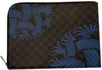 Louis Vuitton Pochette Jour GM Anthracite Cloth Bags