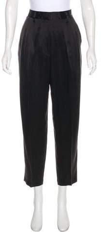 The Row Silk Straight-Leg Pants