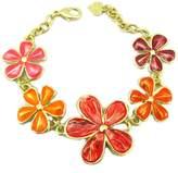 Dolce Vita Creative bracelet 'Vahiné'orange gold.