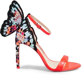 Sophia Webster Chiara Embroidered Butterfly Wing Sandals