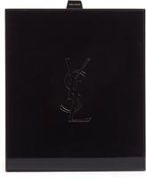 Saint Laurent Tuxedo logo-debossed box clutch