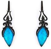 Stephen Webster 'Crystal Haze' diamond long earrings