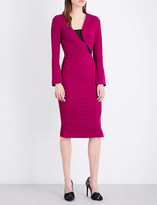 Roland Mouret Ormond stretch-crepe dress