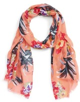 Sole Society Women's Tropical Print Scarf