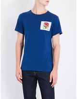 Kent & Curwen Rose 1926 cotton T-shirt