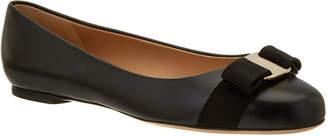 Salvatore Ferragamo Varina Leather Ballet Flat
