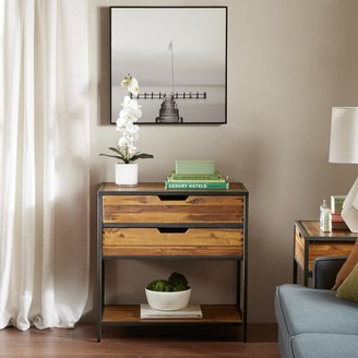 Madison Home USA Ryker Natural/Graphite Accent Chest