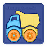 Asstd National Brand Green Toys Dump Truck 3D Puzzle