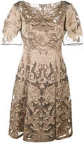 Alberta Ferretti brocade dress