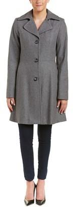Betsey Johnson Wool-blend Peacoat.