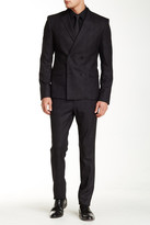 HUGO BOSS Double Breasted Notch Lapel Suit