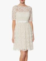 Gina Bacconi Malia Embroidered Mini Dress