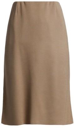 Agnona Wool, Silk & Cashmere Tulip Skirt
