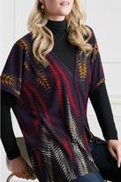 Jana Colorful Poncho Vest