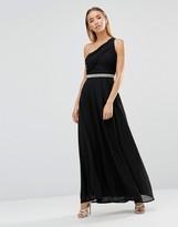 AX Paris Asymmetric Embellished Maxi Dress