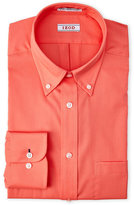 Izod Orange Slim Fit Dress Shirt