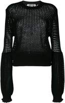 McQ knit exaggerated sleeve top