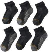 Gold Toe Goldtoe Boys GOLDTOE 6-pk. Ultra Tec Quarter-Crew Socks