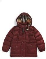 Burberry Boy's 'Barnie' Down Puffer Coat