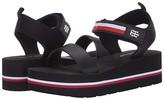 Tommy Hilfiger Avrett (Black Multi Fabric) Women's Shoes