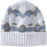 Joe Fresh Women's Fair Isle Hat, Ecru (Size O/S)