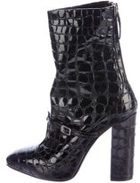 No.21 No. 21 Embossed Mid-Calf Boots