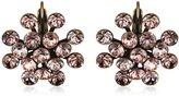 Konplott Women's Earrings Magic Fireball Brass Glass Beige – 5450543138251