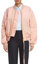 Acne Studios Women's Clea Crop Bomber Jacket