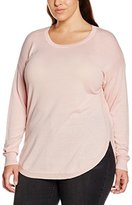 Yours Clothing Yours Women's Long Sleeve Keyhole Back Detail Jumpers