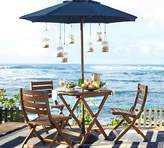 Pottery Barn Chatham Round Folding Bistro Table & Side Chair Set