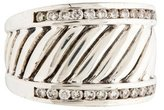 David Yurman Pave Diamond Cable Ring