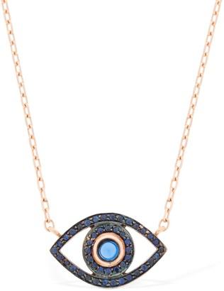 Netali Nissim Mini Eye 18kt Rose Gold Necklace