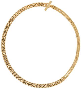Saskia Diez SSENSE Exclusive Gold Grand Mixed Choker