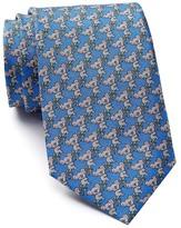 Tailorbyrd Koala Print Silk Tie