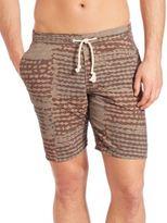 Eidos Cotton & Linen Swim Shorts