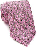 Tailorbyrd Silk Floral Print Tie