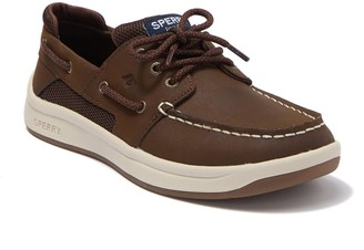 Sperry Convoy Leather Boat Shoe (Little Kid & Big Kid)