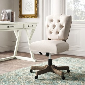 Kelly clarkson lourdes task chair with wheels