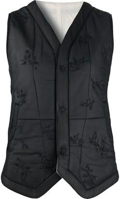 Renli Su Embroidered Mulberry Silk Jacket