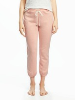 Old Navy French-Terry Cropped Sleep Joggers for Women