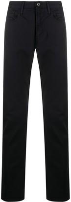 Emporio Armani Mid-Rise Slim-Fit Jeans