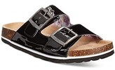Baby Phat Jbu By Jambu Women's Ellen Too Sandals Black Patent.