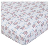 NoJo Fitted Crib Sheet - Teepee